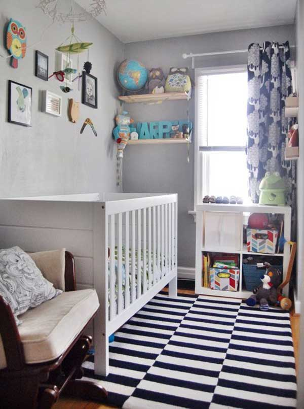 20  Steal Worthy Decorating Ideas For Small Baby Nurseries     AD Baby Nursery Ideas 13