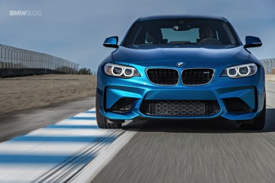 BMW M2 runs 1:13.2 minutes at Hockenheim, faster than M3 CRT
