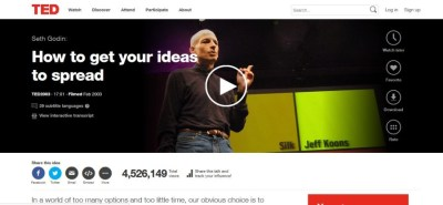Seth Godin How To Get Your Ideas To Spread Ted Talk | Autos Post