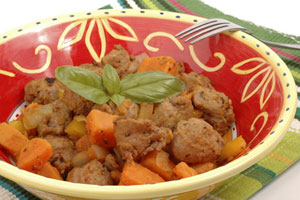 Italian-Style Turkey Sausage Recipe   CDKitchen.com