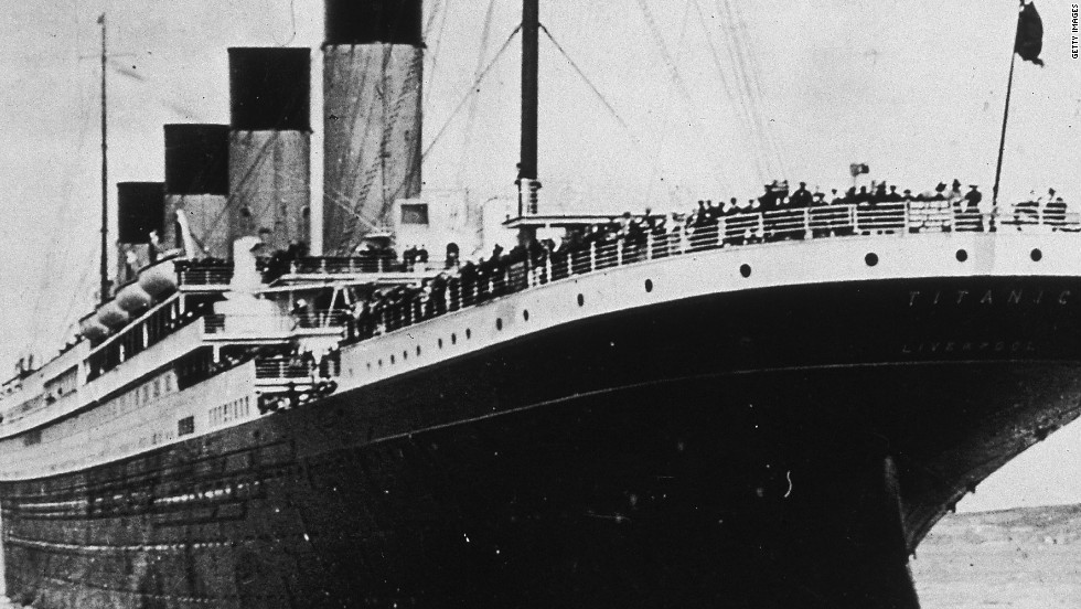 Titanic Fast Facts   CNN The White Star ocean liner Titanic on her first and last voyage in 1912