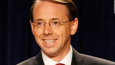 Who is deputy Attorney General Rod Rosenstein? - CNNPolitics