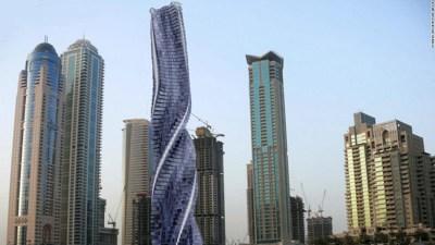 Rotating, shape-shifting tower planned for Dubai - CNN