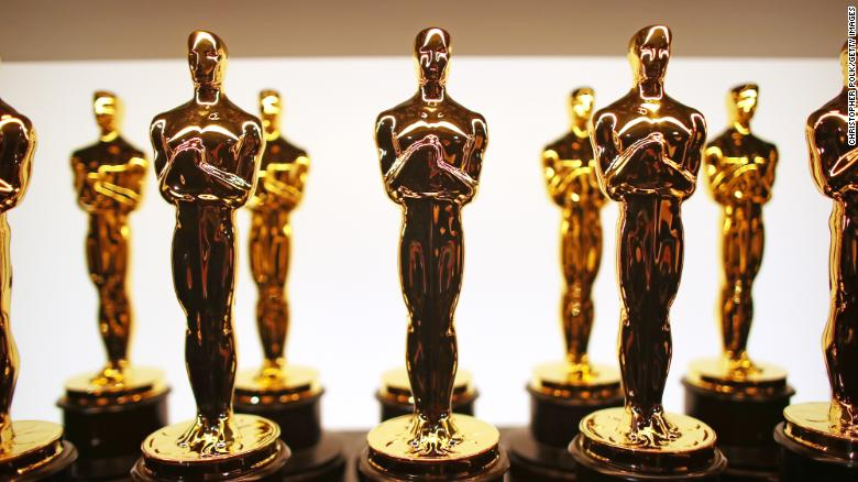 Academy nixes addition of  popular movie  category to Oscars    for     HOLLYWOOD  CA   FEBRUARY 26  A view of oscar statuettes backstage during  the 89th