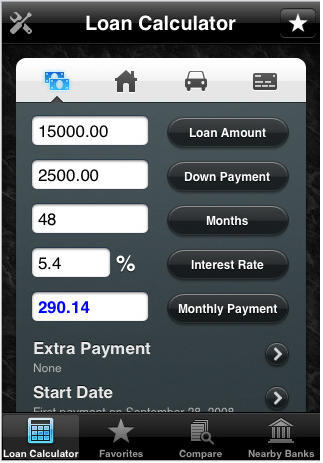 Loan Shark - Another Timely App for iPhone, iPod Touch | Cult of Mac