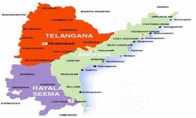 Google map shows Telangana villages in Andhra Pradesh