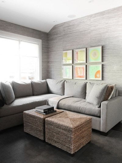 20 Living Rooms with the Textural Beauty of Grasscloth