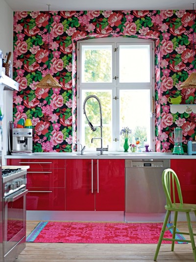 Kitchen Wallpaper Ideas - Wall Decor That Sticks