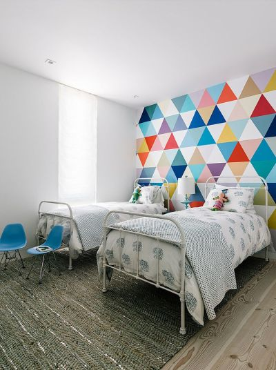 21 Creative Accent Wall Ideas for Trendy Kids' Bedrooms