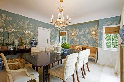 27 Splendid Wallpaper Decorating Ideas for the Dining Room