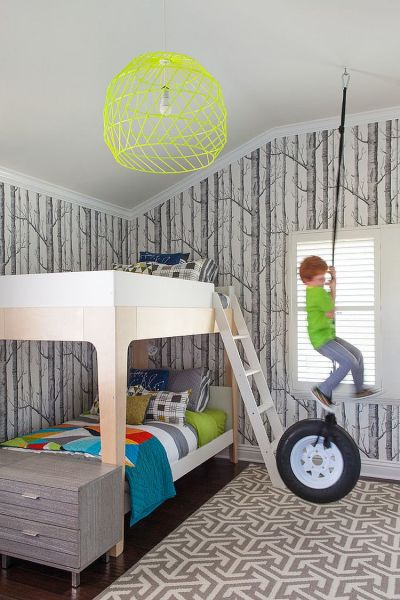 25 Cool Kids' Bedrooms that Charm with Gorgeous Gray