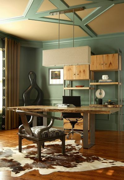 Natural Allure: 25 Home Offices That Celebrate the Charm ...
