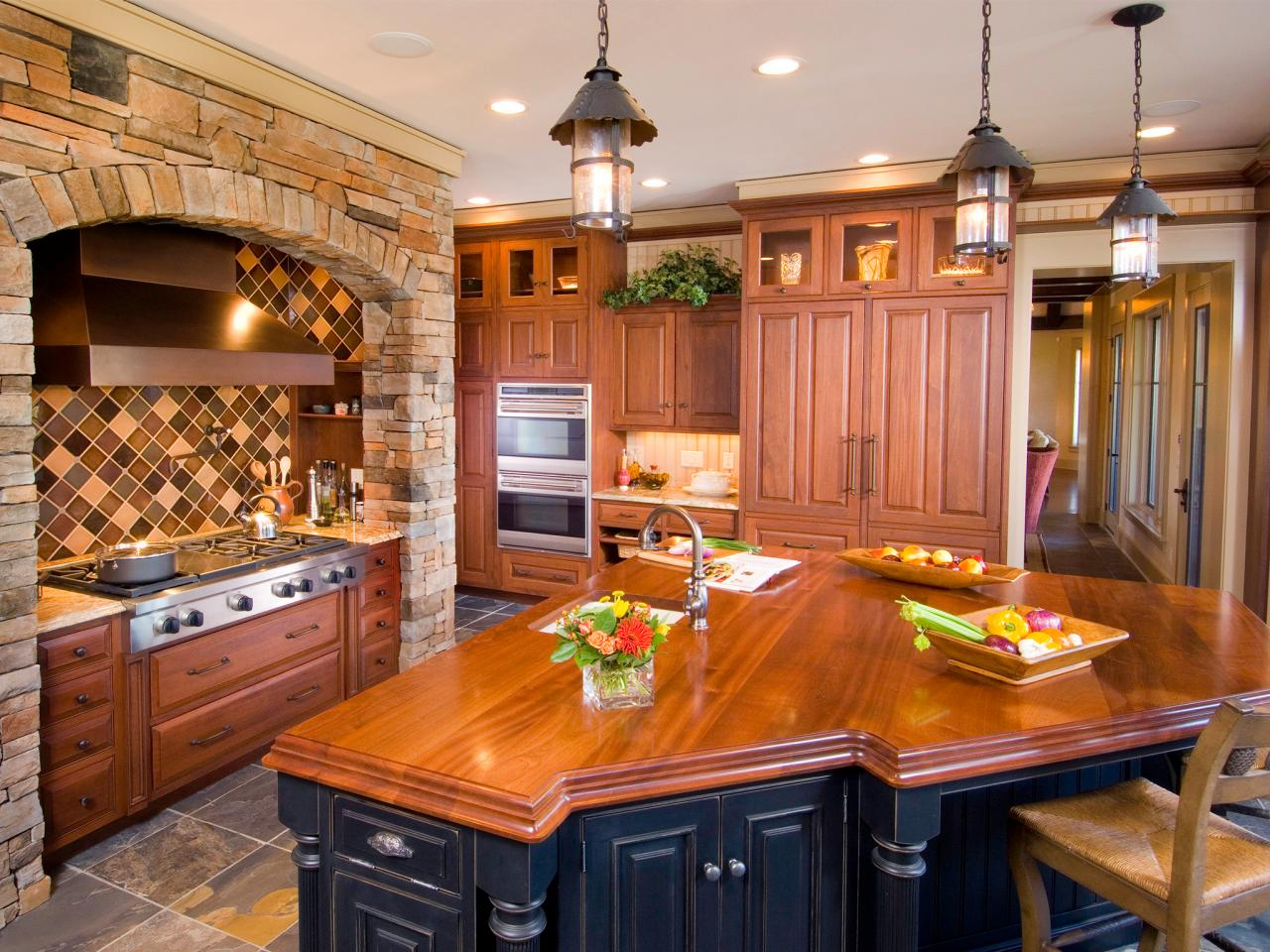 charming and classy wooden kitchen countertops wooden kitchen countertops The Shiny Manner of Polished Wood