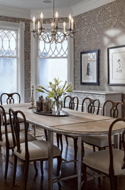 Elegant Wallpaper For Dining Room | Modern Diy Art Design Collection