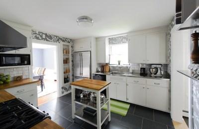 Ikea Kitchen Cart - Traditional - kitchen - ER Miller Design