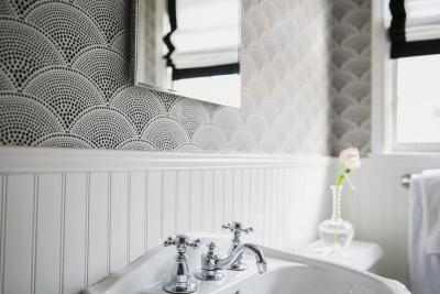 Fan Shaped Wallpaper Design Ideas