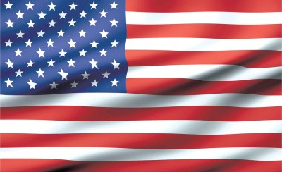 Flag United States USA Wall Paper Mural | Buy at UKposters