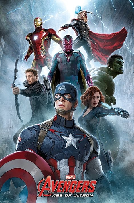 The Avengers  Age Of Ultron   Encounter Poster   Sold at Abposters com The Avengers  Age Of Ultron   Encounter Poster