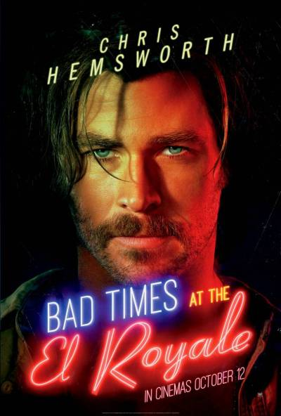 Bad Times at the El Royale gets a batch of new character posters | Flickering Myth