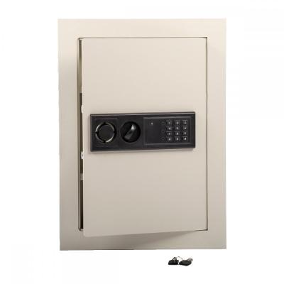 0.8CF Home Security Lock Gun Box Electronic Digital Flat Recessed Wall Safe S58 848837012199 | eBay
