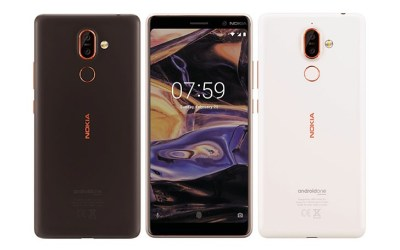 Nokia 7 Plus and Nokia 1 official images leak - GSMArena.com news