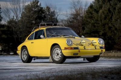 Auction Block: 1967 Porsche 911 2.0 S Rally   HiConsumption
