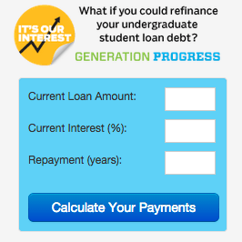 Student Loan Refinancing Calulator | Higher Ed, Not Debt