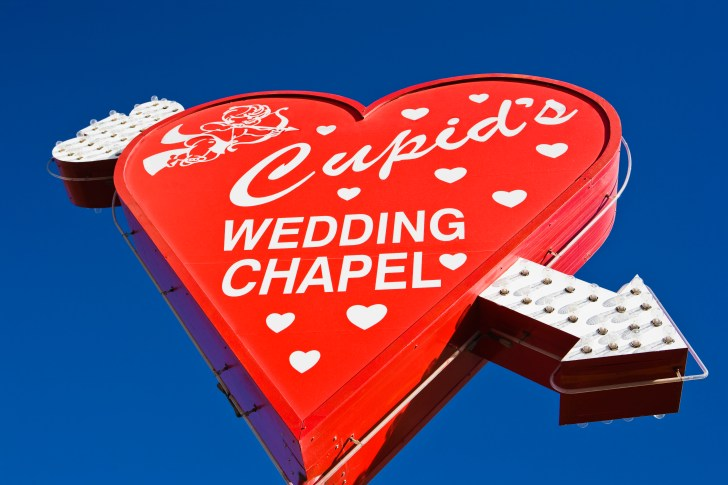 cupids wedding chapel in las vegas vegas wedding chapels nevada las vegas cupid s wedding chapel valentine s day