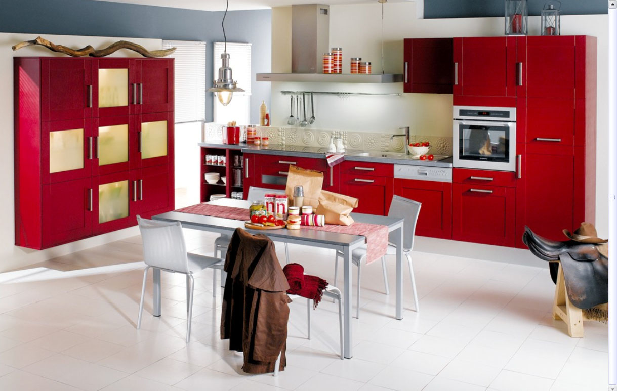 23 very beautiful french kitchens kitchen interior design white red kitchen