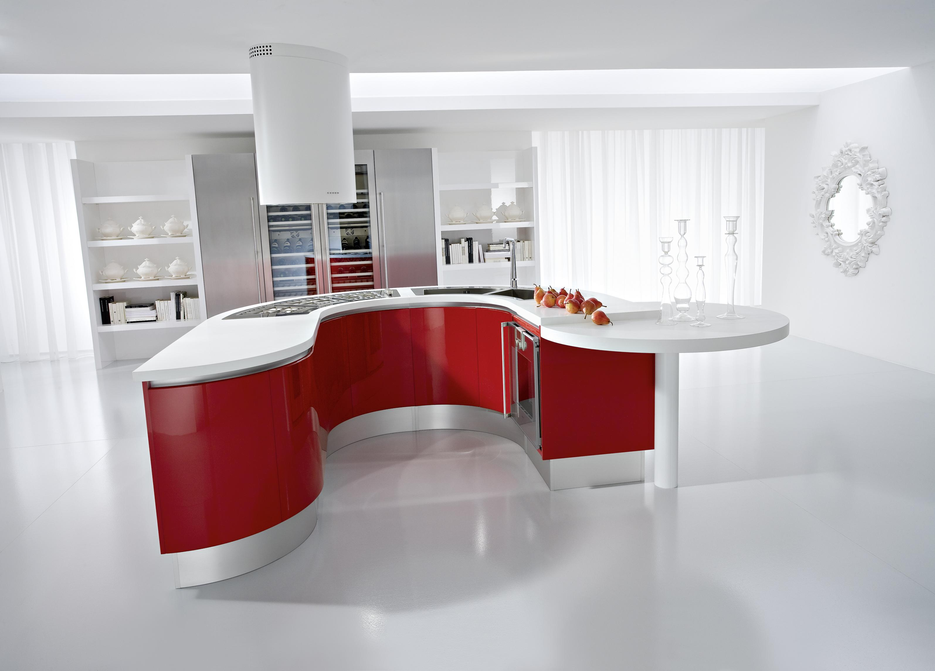 red kitchens designer kitchens red white kitchen