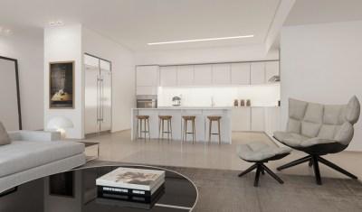 White kitchen lounge | Interior Design Ideas.