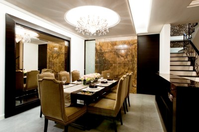 Mustard dining chairs | Interior Design Ideas.
