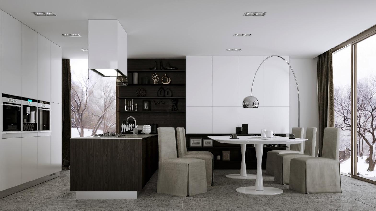 12 modern eat in kitchen designs eat in kitchen table
