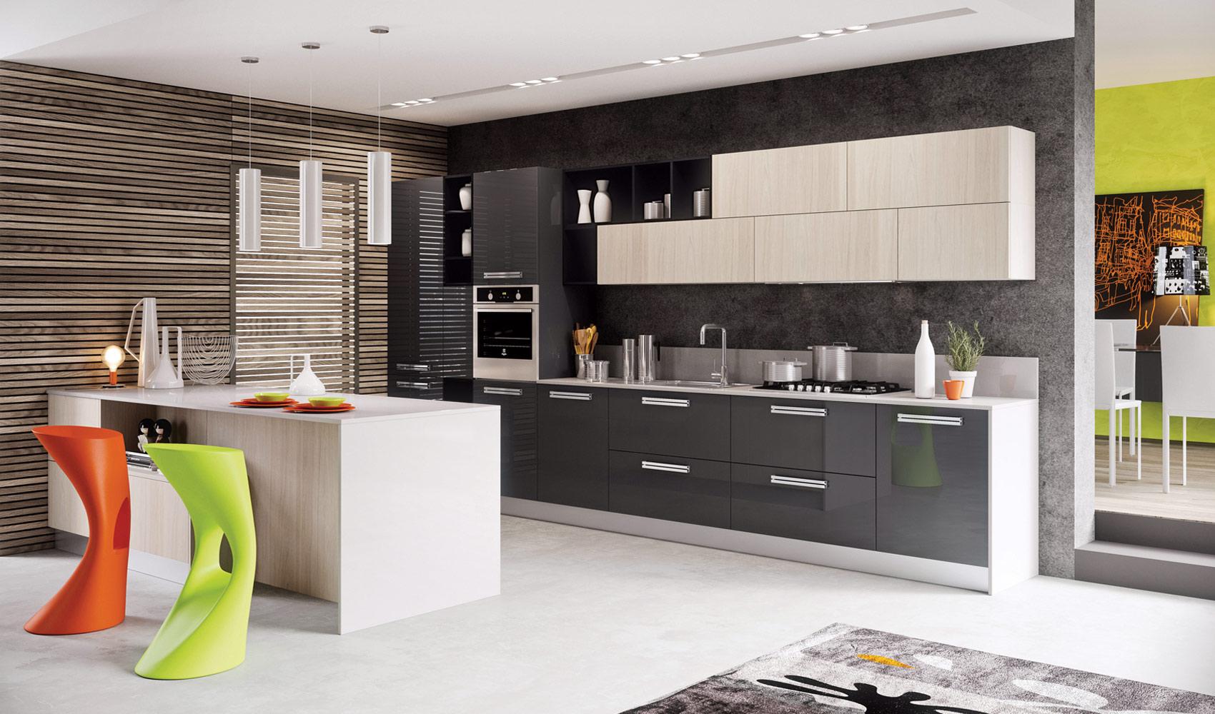 kitchen designs that pop contemporary kitchen design