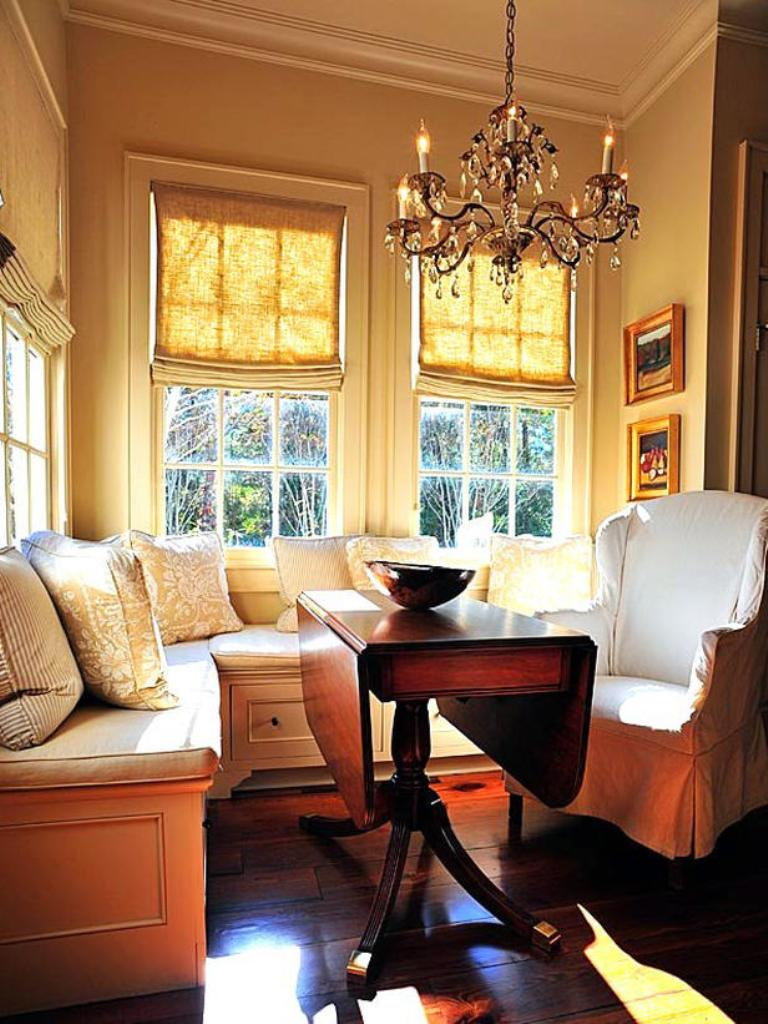breakfast nook ideas kitchen nook lighting 2 Stately Elegance