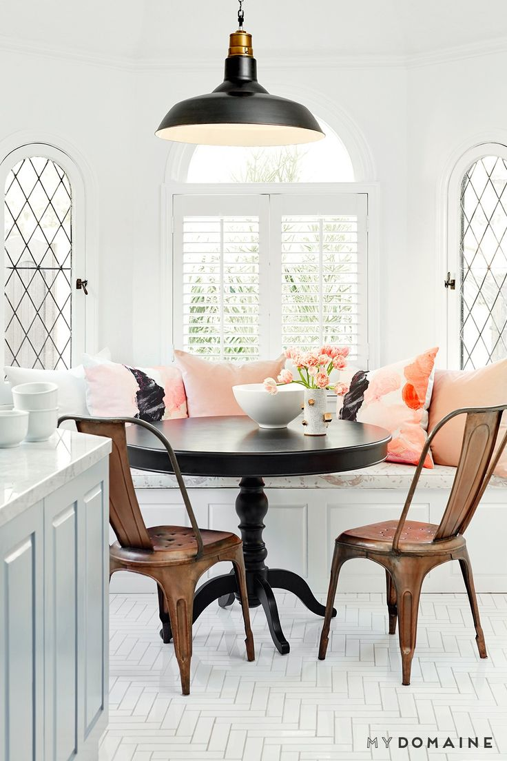breakfast nook ideas kitchen nook lighting 10 Classic Lines