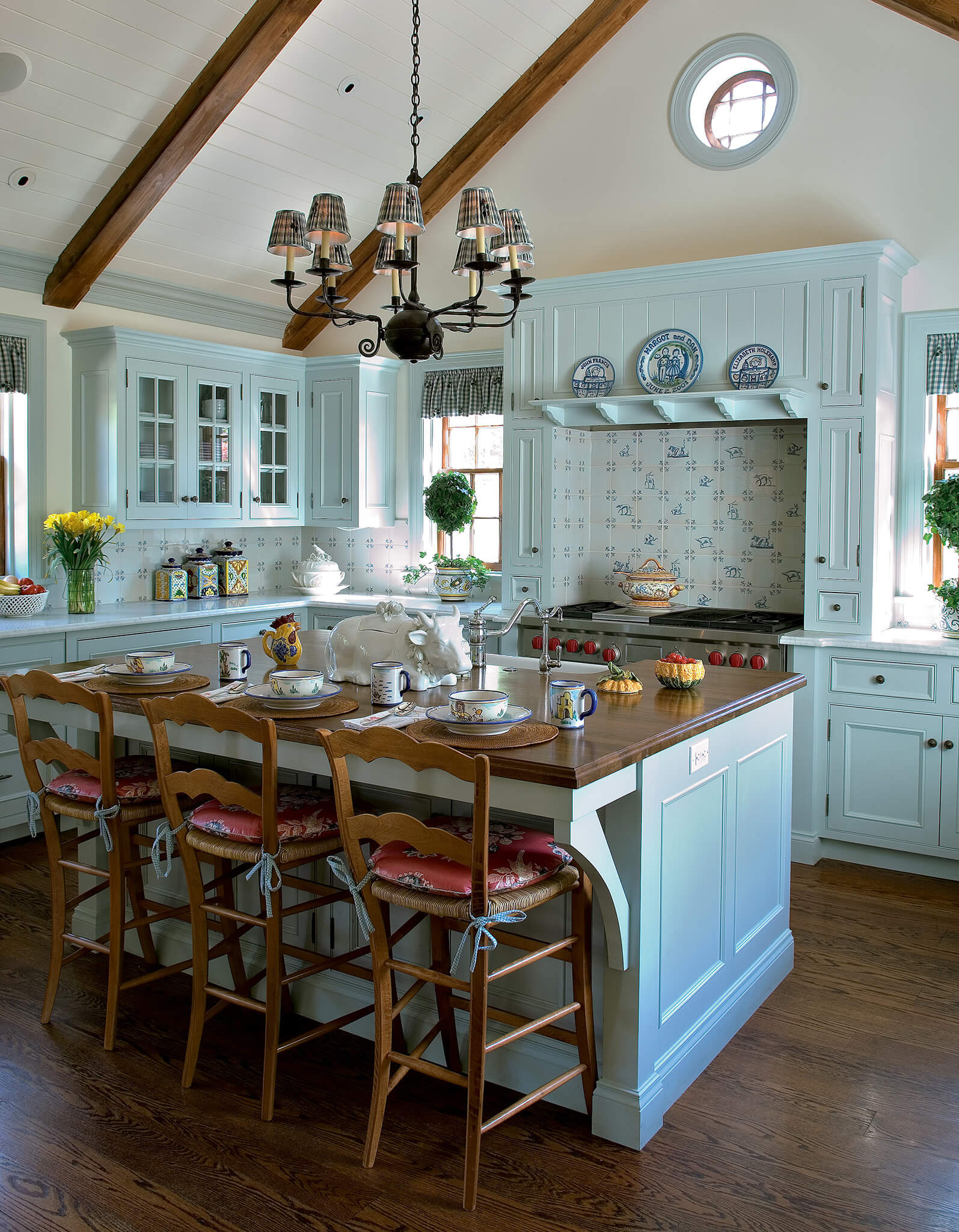 best rustic kitchen cabinets ideas rustic kitchen cabinets Robin s Egg Blue Hued Kitchen Cabinets