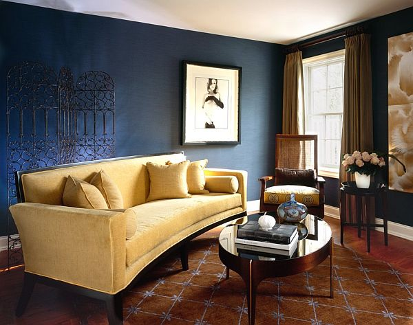 20 Blue living room design ideas View