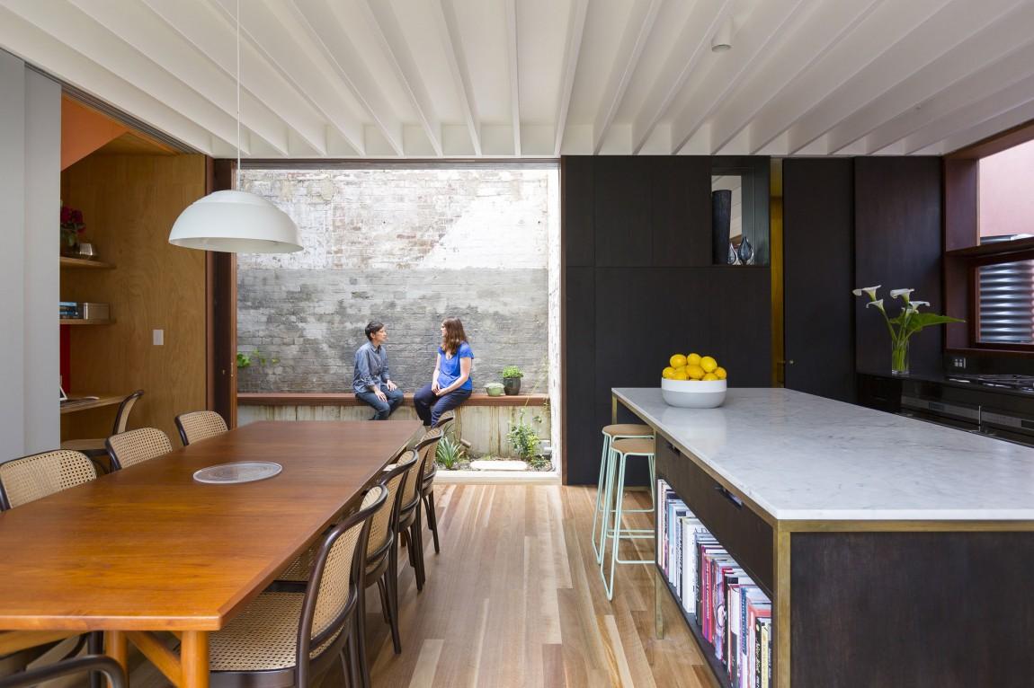 open concept kitchen designs open kitchen design Courtyard House 07