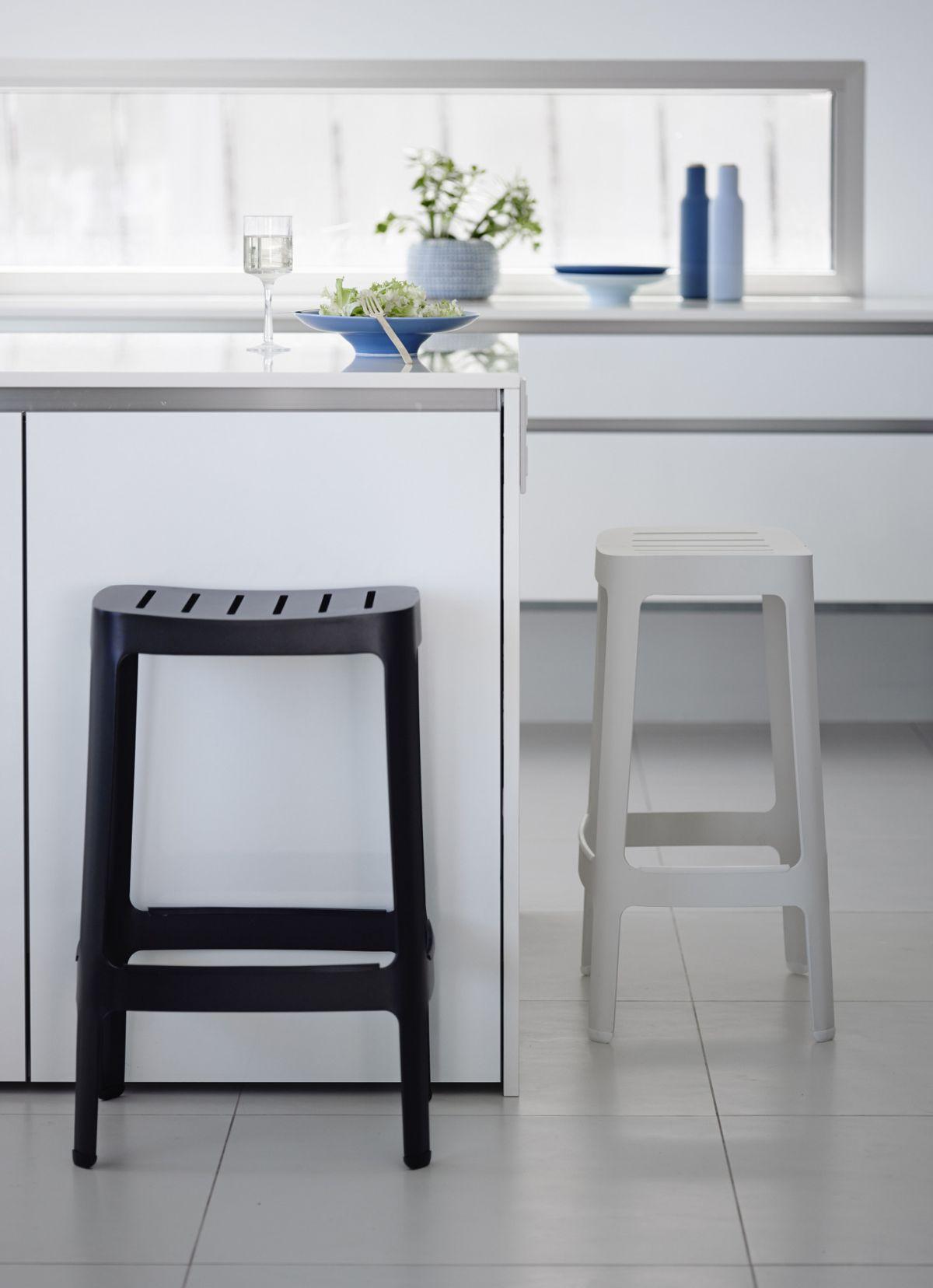 black white bar stools choose use kitchen high chairs Cut black kitchen bar stool