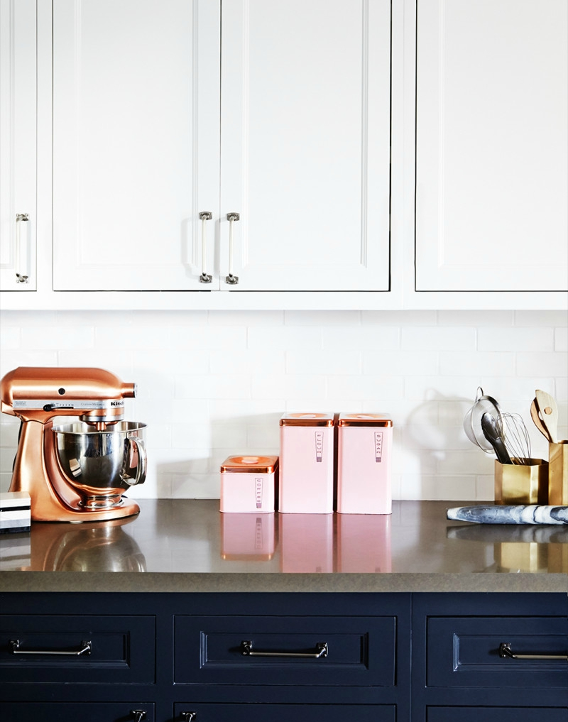 bi colored kitchen cabinets blue cabinets kitchen navy blue cabinets