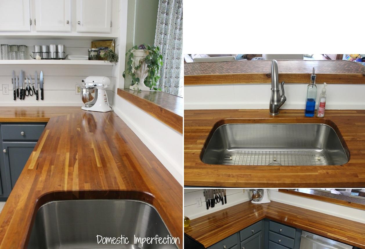 stylish butcher block countertops butcher block kitchen countertops Chic Butcher Block Countertops