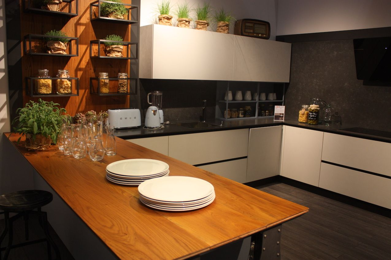 wood countertops wood countertops kitchen Clean wood countertop finish for a modern U shaped kitchen
