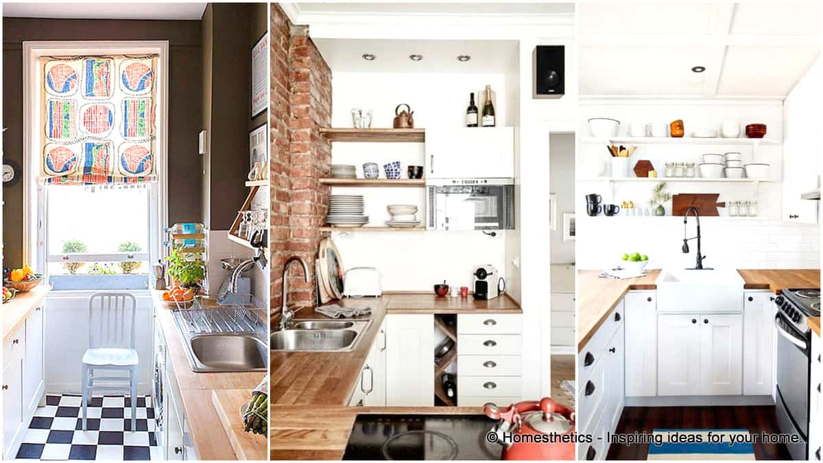 1 19 Beautiful Showcases of U Shaped Kitchen Designs for Small Homes