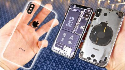 This Insanely Difficult Mod Makes the iPhone X Transparent