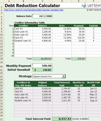 excel mortgage payment calculator by post date