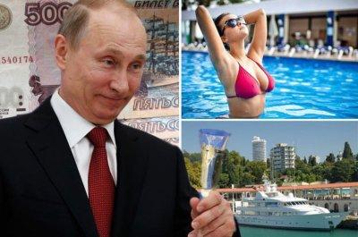 Vladimir Putin 'named world's richest man with £160 ...