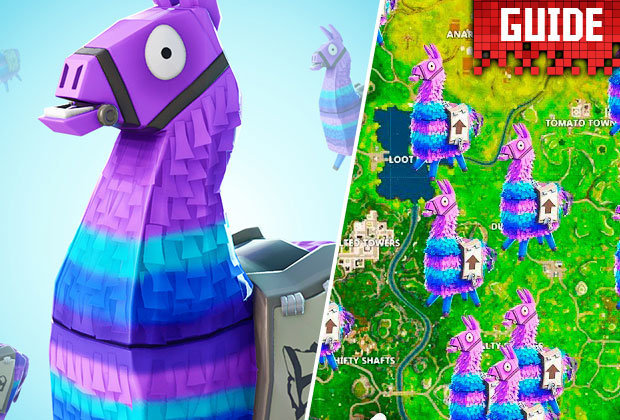 Fortnite Llamas  How to find Llamas  Where do they spawn best     Fortnite Llamas  How to find Llamas  Where do they spawn best  Season 5