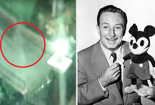 Disney World HAUNTED  Claims video shows Walt Disney ghost in park     walt disney ghost