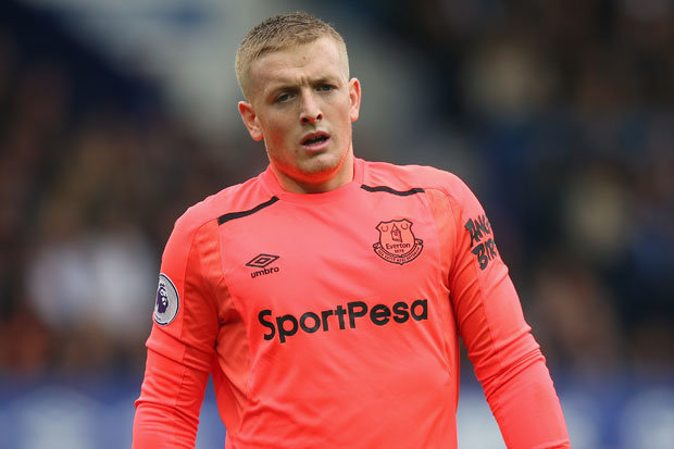 Everton news  Jordan Pickford set to make England debut against     Everton star Jordan Pickford will make his England debut